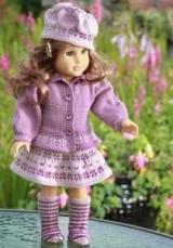 Платье для куклы спицами: выбор пряжи, фасон платья, размер куклы, схема вязания и пошаговая инструкция работы