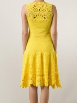 Платье из мотивов крючком: схемы и описание, оригинальные идеи и варианты, фото