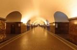 Метро у Финляндского вокзала в Санкт-Петербурге