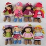 Как связать куклу спицами: схемы, описание. Вязаная одежда для кукол
