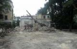В Одессе снесли уцелевшую часть дома, где жил русский писатель Иван Бунин