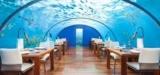 Подводный ресторан на Мальдивах: фото