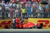 Феттель вибачився за виліт на Гран-прі Німеччини