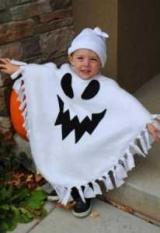 Костюм привидения на Хэллоуин для взрослых и детей