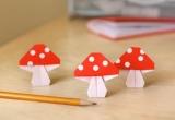 Как сделать оригами гриба - схемы, пошаговые инструкции и видео